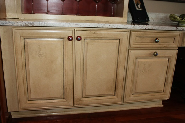 Kitchen cabinet painted finishes for Kitchen cabinet finishes